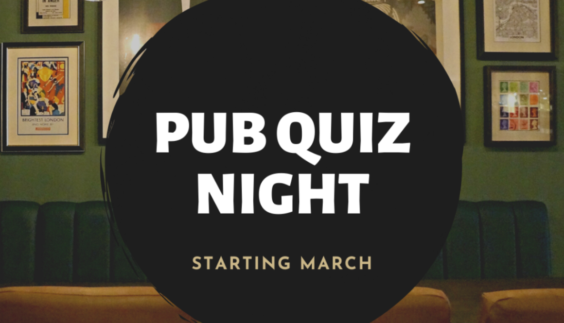 Pub Quiz At The Loose Box