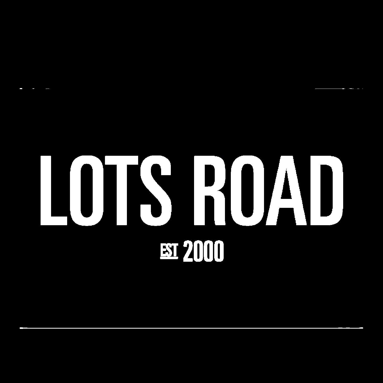 Lots Road Logo Negative