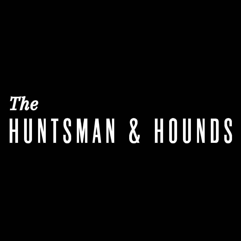 The Huntsman & Hounds logo, negative (3)